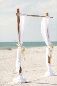 Décor cérémonie plage