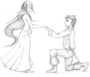 dessin demande en mariage