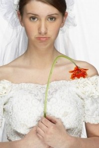 Mariée découragée2