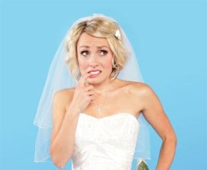 Mariée qui doute