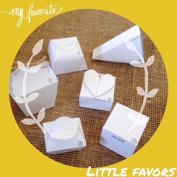 Petites boîtes à cadeaux - imprimables !