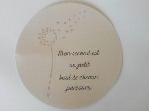 Mon second...